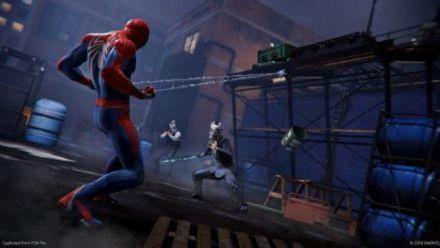 Costume d'Avengers Infinity War dans Spider-Man PS4