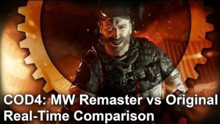 Modern Warfare Remastered : Nouvelle vidéo de comparaison