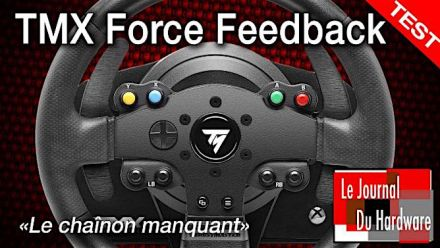 Vid�o : TEST du volant TMX Force Feedback