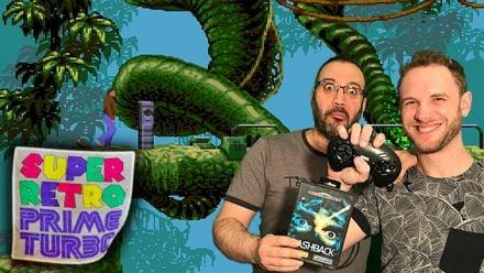 Super Retro Prime Turbo : Flashback (Mega Drive) avec Joniwan et Traz