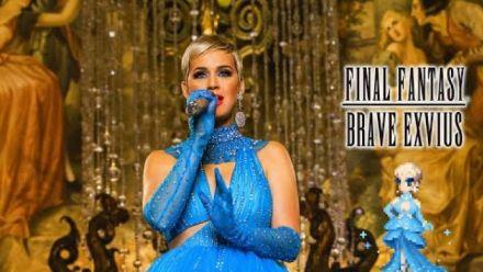 Vidéo : Final Fantasy Brave Exvius : Trailer Katy Perry Immortal Flame