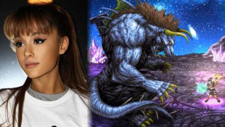 Vid�o : Ariana Grande dans Final Fantasy Brave Exvius, l'annonce en vidéo