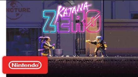 Vid�o : Katana ZERO : Bande annonce sur Switch