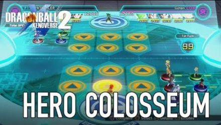 Vid�o : Dragon Ball Xenoverse 2 : Bande-annonce mode Hero Colosseum