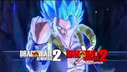 Vidéo : Dragon Ball Xenoverse 2 : Teaser Gogeta Super Saiyan Blue