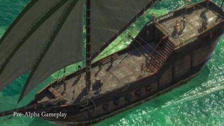 Vid�o : Pillars of Eternity II- Deadfire - Backer Update 16 -  Navires
