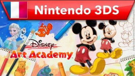 Vidéo : Disney Art Academy - trailer de lancement