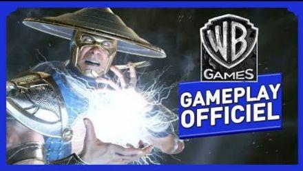 Vid�o : Injustice 2 - Gameplay Officiel (VOST) - Raiden / Black Lightning