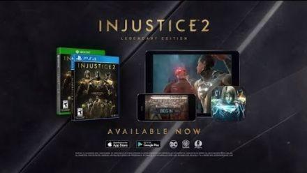 Vid�o : Injustice 2 : Trailer Legendary Edition