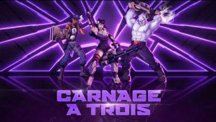 Vid�o : Agents of Mayhem : Carnage à trois