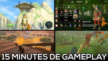 Vid�o : Zelda Breath of the Wild Nintendo Switch : Découvrez 15 minutes de gameplay 1080p maison