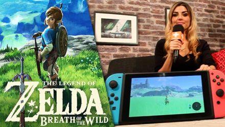 Vid�o : Notre avis sur Zelda Breath of The Wild Nintendo Switch : Entre technique décevante et aventure envoûtante