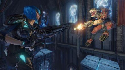 Quake Champions -Présentation du Scalebearer