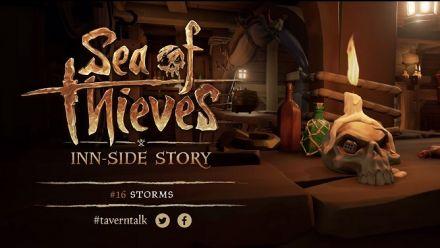 Le carnet de développement de Sea of Thieves qui parle des orages