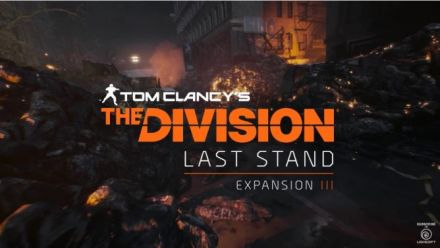 Vid�o : Tom Clancy's The Division Last Stand : Teaser trailer