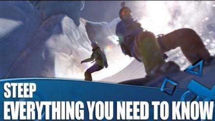 Vid�o : Steep : Nouvel extrait de gameplay
