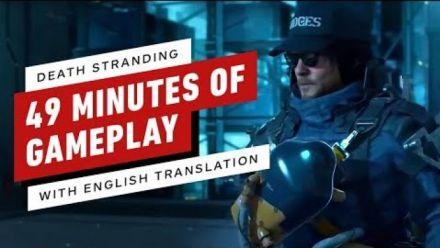 Death Stranding : Gameplay TGS 2019 sous-titré en anglais