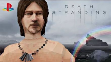 Death Stranding : Le premier trailer recréé sur PS1