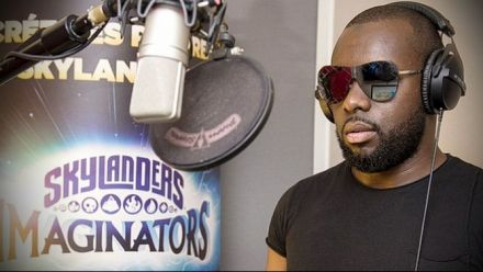 Vid�o : Making-of Skylanders Imaginators avec Maître Gims