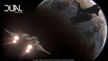 Vid�o : Dual Universe : Constructions communautaire