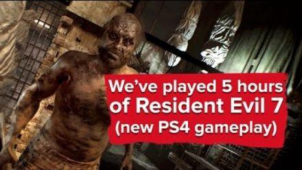 Resident Evil 7 - Gameplay Eurogamer