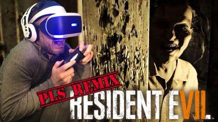 vidéo : Resident Evil 7 : Julo le découvre en Réalité Virtuelle... et finit en PLS [PLS REMIX]