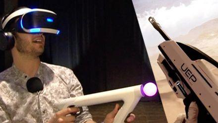 Vid�o : E3 2016 : Impressions de Farpoint sur PS VR