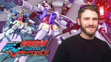 Vid�o : Mobile Suit Gundam : Extreme VS- Force : Notre TEST vidéo purement mécha