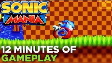 Vid�o : Sonic Mania - Extrait de gameplay