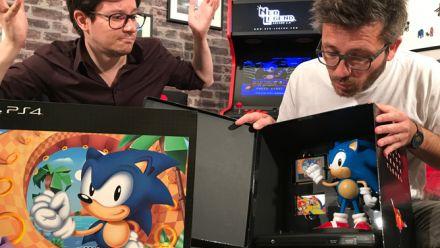Vid�o : Sonic Mania : Notre unboxing de l'édition Collector