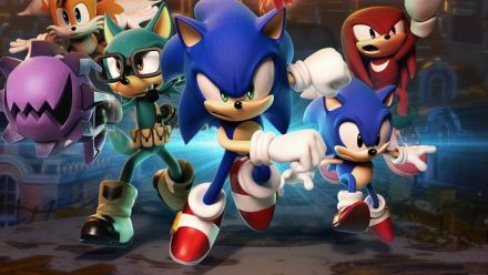 Sonic Forces : Gameplay du niveau Casino Forest