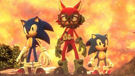 Sonic Forces : Trailer héros personnalisé