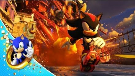 Sonic Forces : Episode Shadow gameplay