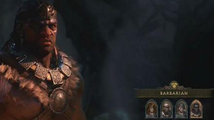 Vid�o : Diablo IV : Barbarian gameplay (Game Informer)