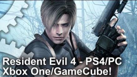 Resident Evil 4 : Comparaison graphique