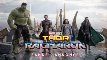 Vidéo : Thor Ragnarok : Bande-annonce Comic Con 2017