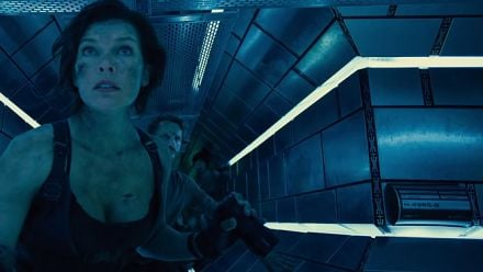 "Vidéo : Resident Evil The Final Chapter : Extrait ""Inside The Hive"""
