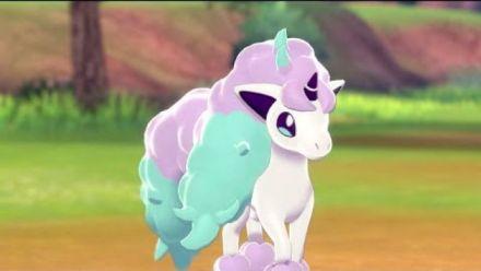 vidéo : Pokémon Bouclier : Trailer de Ponyta