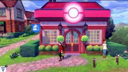 vidéo : Pokémon Épée/Bouclier : Première visite de la ville