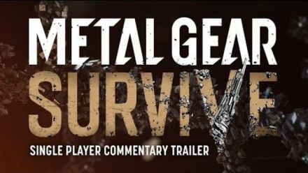 Metal Gear Survive : Trailer single player