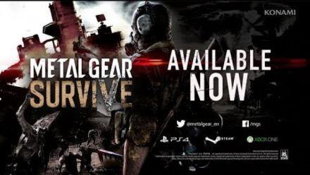 Vidéo : Metal Gear Survive : Bande-annonce de lancement