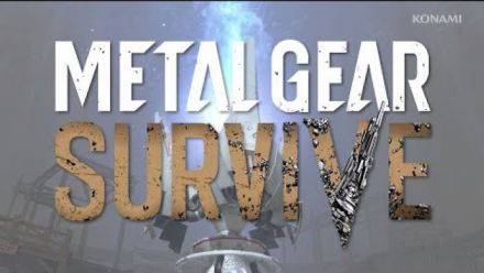 Vid�o : Metal Gear Survive :Trailer co-op