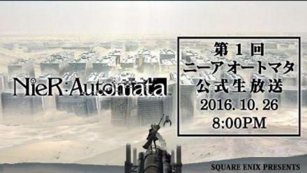 Vid�o : NiER Automata : live Mercredi 26 octobre 13h00 (HF)