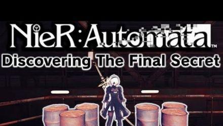 Discovering NieR Automata's Final Secret - Cheat Code Reverse Engeering - Secret Ending Trigger (Vidéo de Lance McDonald)