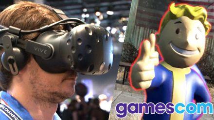 Vid�o : Gamescom : Fallout 4 VR, peut-on réellement jouer 100H en Réalité Virtuelle ?