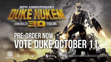 Vid�o : Duke Nukem 3D World Tour 20 ans Trailer