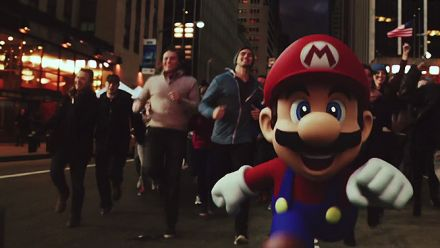 Vid�o : Super Mario Run : Publicité live action