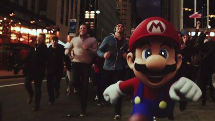 Super Mario Run : Publicité live action
