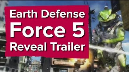 Vid�o : Earth Defense Force 5 : Vidéo TGS 2016