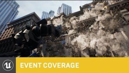 Vid�o : Unreal Engine : Démonstration du système Chaos
